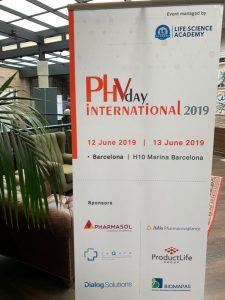 Estamos en la conferencia  «Pharmacovigilance day International 2019.»
